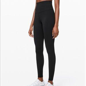 lululemon athletica Pants - Lululemon Black Wunder Under Leggings 12